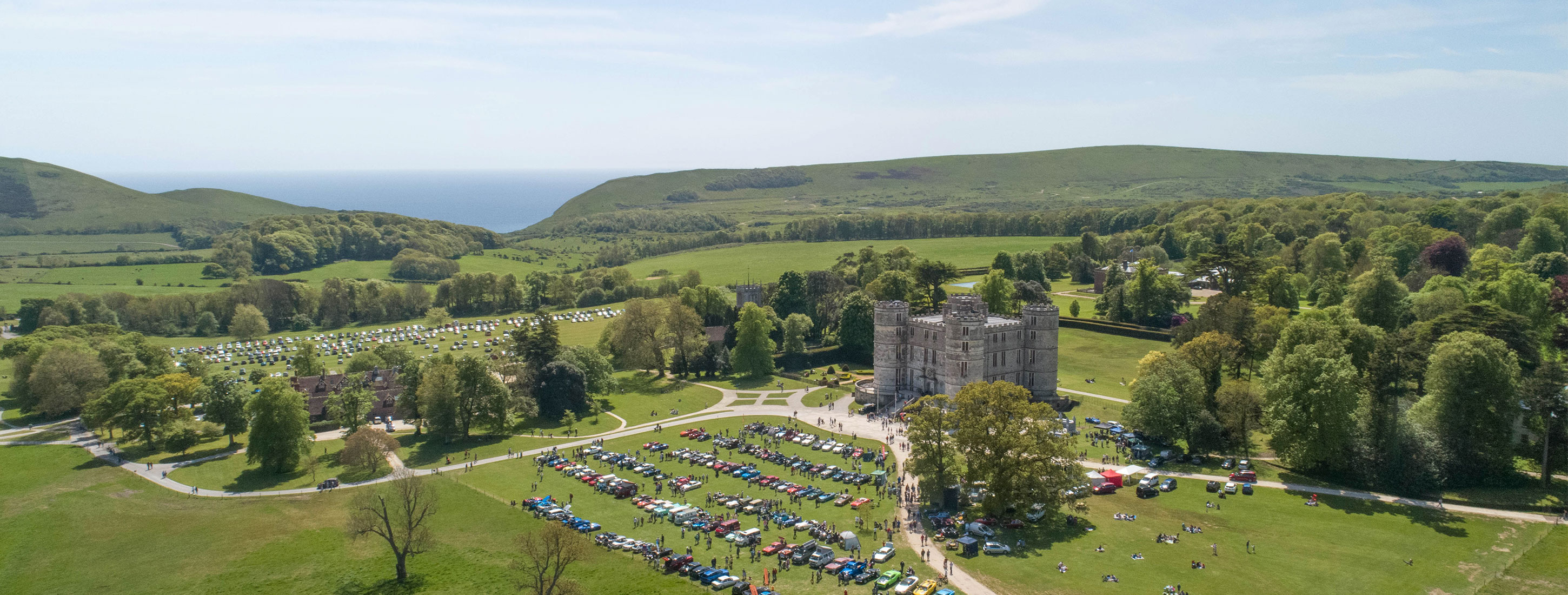 Vintage Car Rally 2018 Lulworth Castle