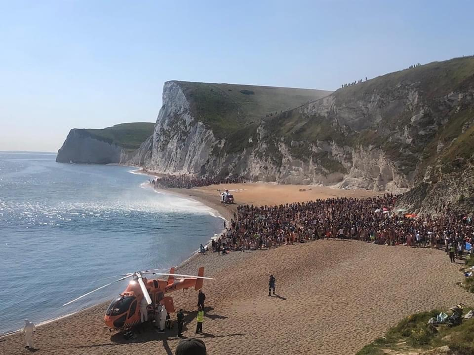 Durdle Door copyright Dorset Police